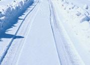 雪のわだちと吃音者の脳の関係